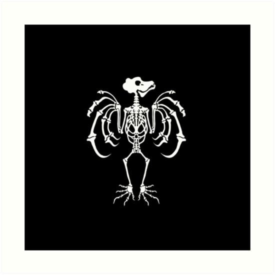 Halloween Dancing Bat Skeleton Costume by Cindi Hardwicke