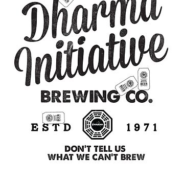 LOST Dharma Initiative Brewing Company by lauraporah