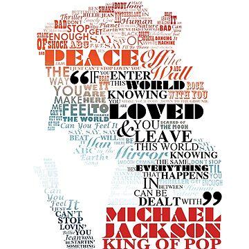 Michael Jackson — Music Typography by Obtineo