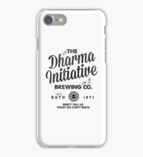 LOST Dharma Initiative Brewing Company iPhone Case/Skin