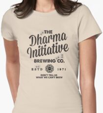 LOST Dharma Initiative Brewing Company Women's Fitted T-Shirt