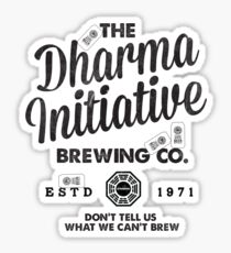 LOST Dharma Initiative Brewing Company Sticker