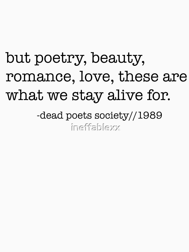 Gesellschaft der toten Dichter von ineffablexx