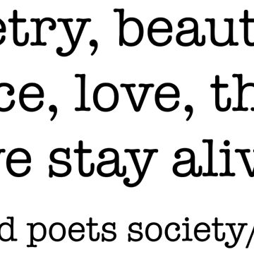 Dead Poets Society by ineffablexx
