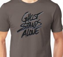 Ghost stands alone (BLK) Unisex T-Shirt