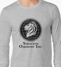 The Wolf of Wall Street Stratton Oakmont Inc. Scorsese Long Sleeve T-Shirt