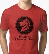 The Wolf of Wall Street Stratton Oakmont Inc. Scorsese Tri-blend T-Shirt