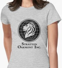 The Wolf of Wall Street Stratton Oakmont Inc. Scorsese Women's Fitted T-Shirt
