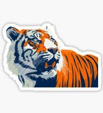 Bengal Tiger | Orange and Blue Sticker