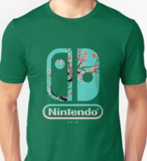 Nintendo-Schalter Slim Fit T-Shirt