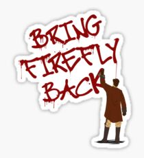 Bring Firefly Back Sticker