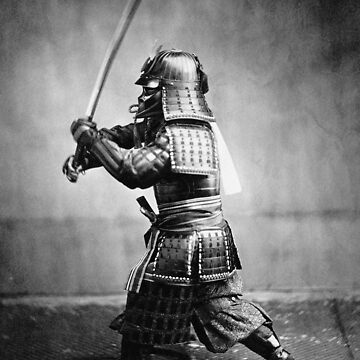 Samurai. The inspiration is obvious. Black and white photo manipulation. by rolphenstien