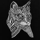 Cat Totem Mandala  by RusticRaw