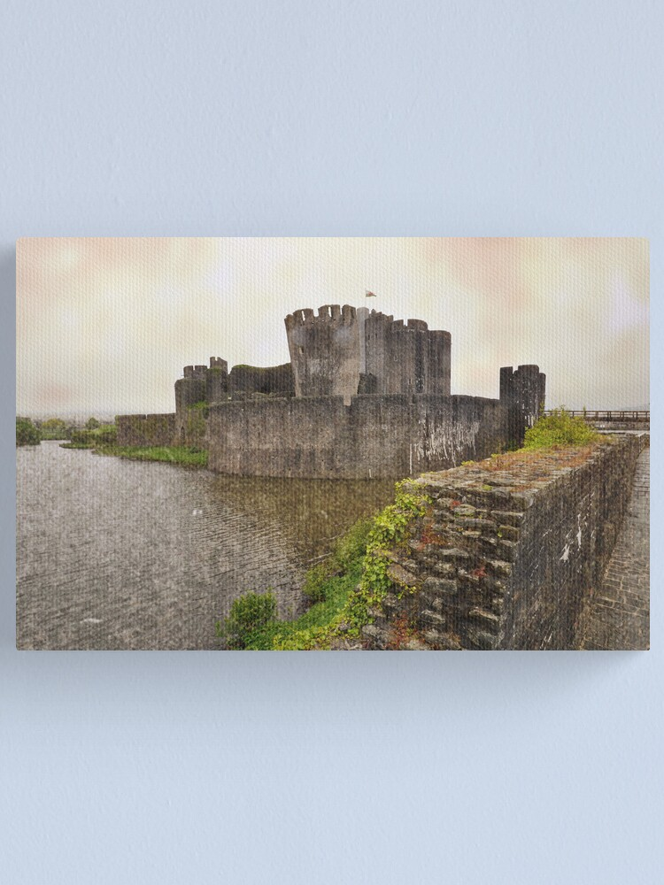 Alternate view of Caerphilly Castle Canvas Print