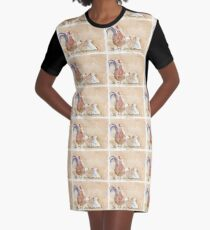 Artemis and the Girls Graphic T-Shirt Dress