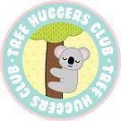 koala tree huggers club by cloverkate