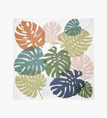 Tropical monstera  Scarf