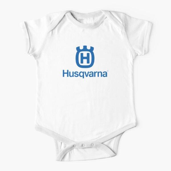 Husqvarna Husky T shirt short sleeve motorbike motorcycle biker vintage racing
