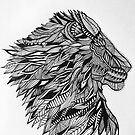 Lion Totem Animal  by RusticRaw