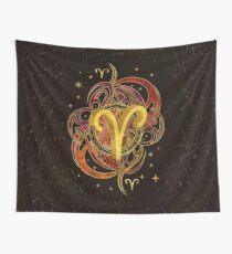 Widder-Sternzeichen-Feuerelement Wandbehang