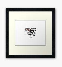 Virgil Astroworld Tee Framed Print