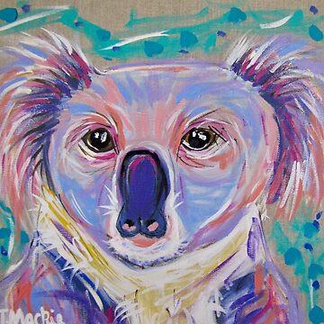 Koala Lou by TraceyMackieArt