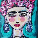 Fabulous Frida by TraceyMackieArt