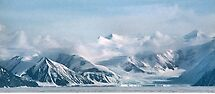 Transantarctic Range, Victoria Land, Antarctica by Carole-Anne