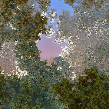 Geometric fractal sky by christianmuller