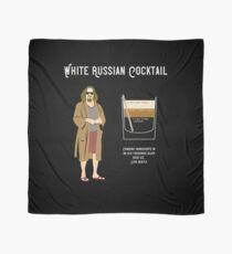 Abide, The Dude White Russian Recipe T Shirt, Unique Design Scarf