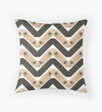 Skate or Die Chevron Pattern Floor Pillow