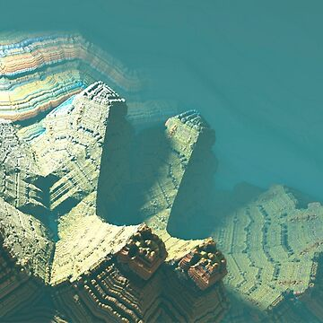 Canyon fractal geometry landscape by christianmuller