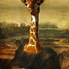 Mona giraffe by Mugsy