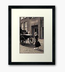 Like the old days Framed Print