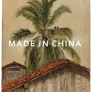 MADE IN CHINA celebration - palm trees oil painting. by rolphenstien