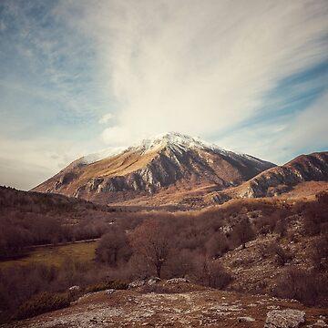 Mountains in the background XVII by salvatoreru