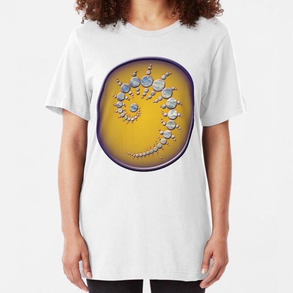 Crop circle Stonehenge - Wiltshire 1996 Slim Fit T-Shirt