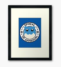 Spheal of Approval Framed Print