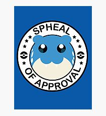 Spheal of Approval Photographic Print