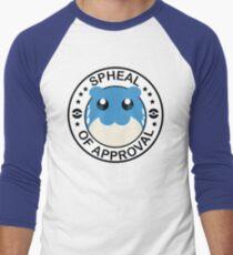 Spheal of Approval Men's Baseball ¾ T-Shirt