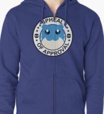 Spheal of Approval Zipped Hoodie