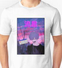 Aesthetic Vaporwave Japanese Boy Unisex T-Shirt