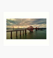 Forth Bridges Art Print
