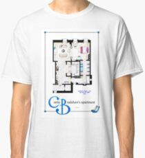 Carrie Bradshaws apartment as a Poster (Movie version) Classic T-Shirt