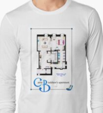 Carrie Bradshaws apartment as a Poster (Movie version) Long Sleeve T-Shirt