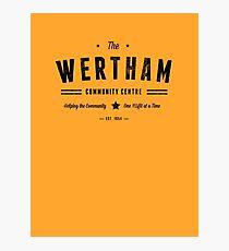 Misfits Wertham Community Centre Photographic Print
