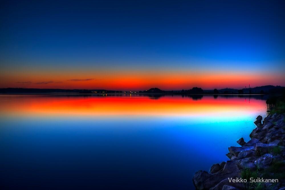 Hour yet to the sunrise by Veikko  Suikkanen