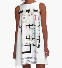 Carrie Bradshaw apt. (Sex and the City movies) A-Line Dress
