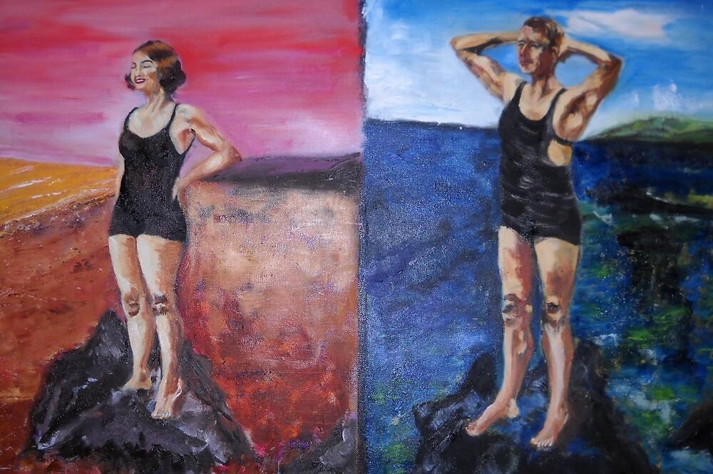 Phaedra and Hippolytus by Christopher  Raggatt