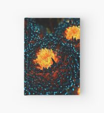 Electric Dahlia Hardcover Journal